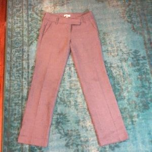 Grey work pants from Ann Taylor Loft